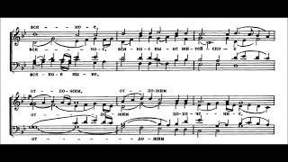 П. Г.Чесноков  ''Херувимская песнь'' (на видя разбойник)