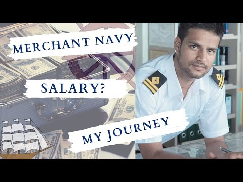 SALARY in merchant navy | My JOURNEY as a DECK officer | My EXPERIENCE of 10 years in Shipping