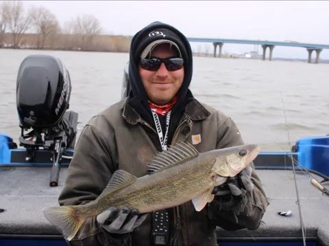 Aim Weekend Walleye Series Fox River, Green Bay, WI event April 10th 2016