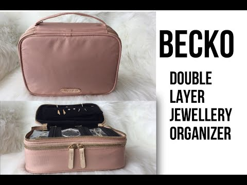becko-double-layer-jewellery-organizer-|-unboxing-|-review