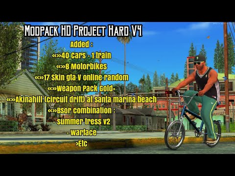 SHARE!-- ✪Modpack HD Project Hard V4 -- GTA SA ANDROID - 동영상