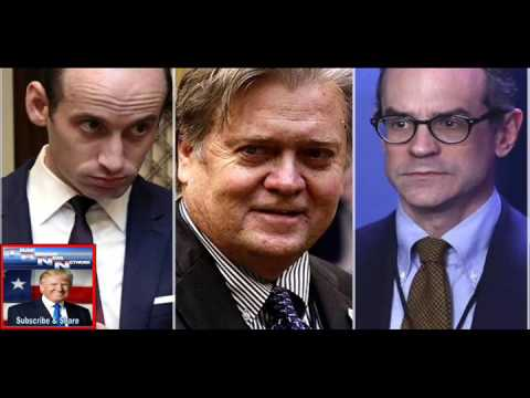 "Donald Trump's white nationalist ""genius bar"" Steve Bannon, Stephen Miller, Michael ""Decius"" Anton a"