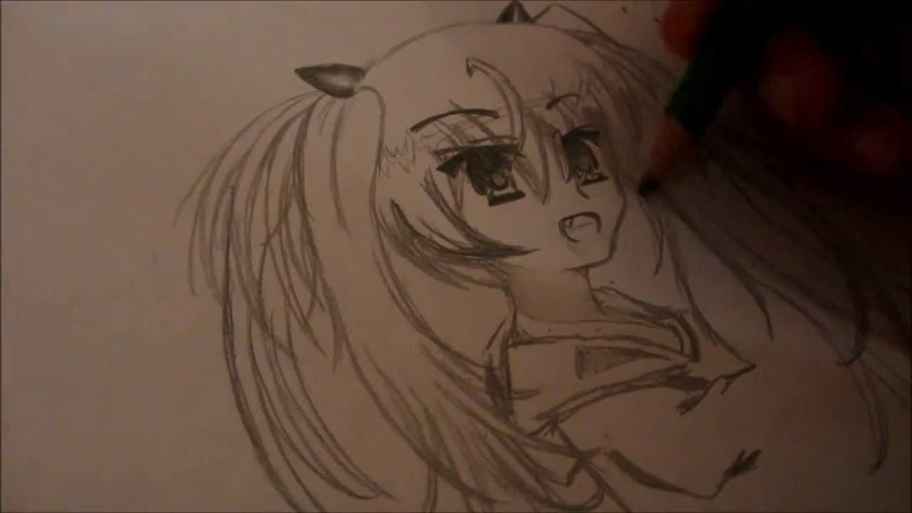 Tutoriel dessiner un manga simple youtube - Dessiner un manga facilement ...