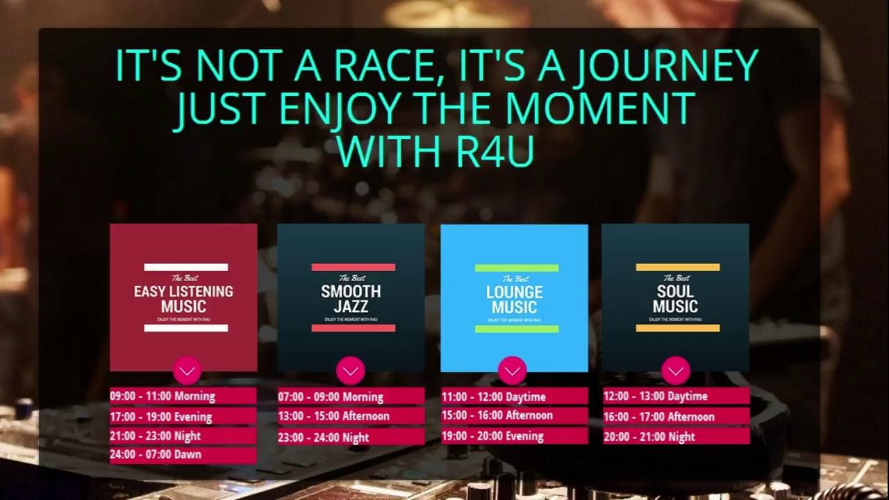 R4U Live 24/7 internet radio - Easy Listening, Smooth Jazz, Lounge, Soul