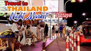 DU LỊCH THÁI LAN ▶ Khám phá khu Mua sắm tại Chợ đêm Pattaya