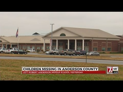 Authorities find missing Robert Anderson Middle school students