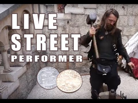 Hand Hammered Coins and Jewelry - Dubrovnik, Croatia - Live Performance
