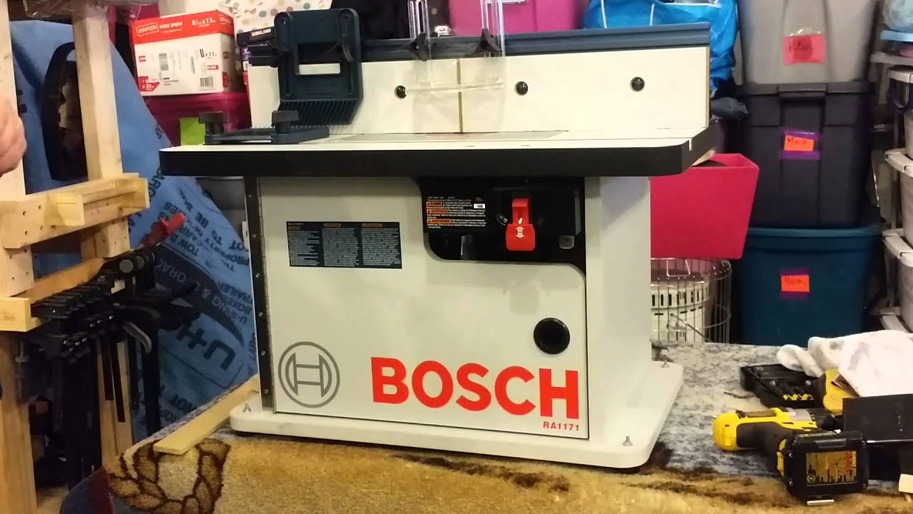 Bosch ra 1171 router table youtube keyboard keysfo Choice Image