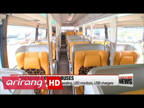 "New ""premium"" express buses offer more comfort, safety and entertainment"