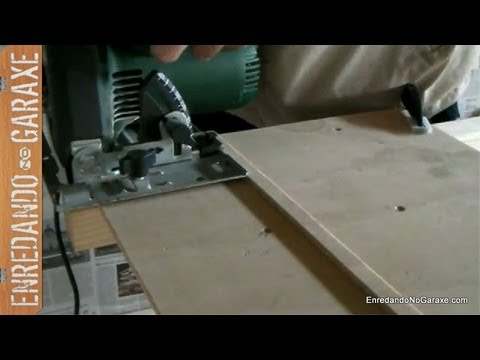 Como hacer una gu a para la sierra circular how to make a - Sierra para cortar madera ...