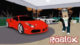 We're a Super Car Salesman!! Roblox Vehicle Tycoon with Panda