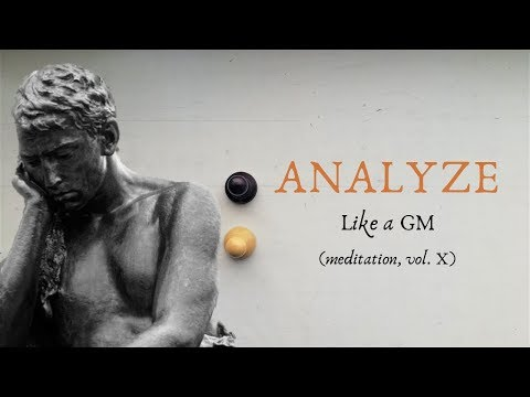 How to Analyze Chess Games