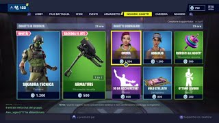 FORTNITE SHOP 25 JENNAIO - TATTICAL SQUAD, ARMATURE, COASSIA-COTTERO, SHADOW AND MORE