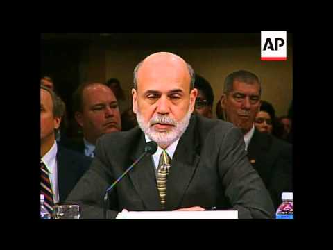 Federal Reserve Chairman Ben Bernanke Bluntly Warned Congress On Tuesday It Risks A Recession, With