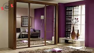 Home Decoration Styles for Modern Homes Modern furniture in the house  Closet in the bedroom