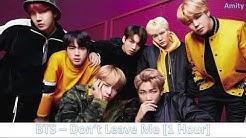 BTS - Don't Leave Me (FULL) 1 HOUR LOOP