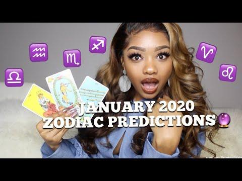 ⚡️January 2020 Prediction (ALL 12 ZODIAC SIGNS) ❤️💰🔮