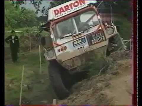 Europa Truck Trial 22 in the 90s. Gama-Goat, GAZ 4x4, Tatra 4x4