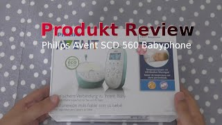 Philips Avent SCD 560 Babyphone | Unboxing + Livetest | German |
