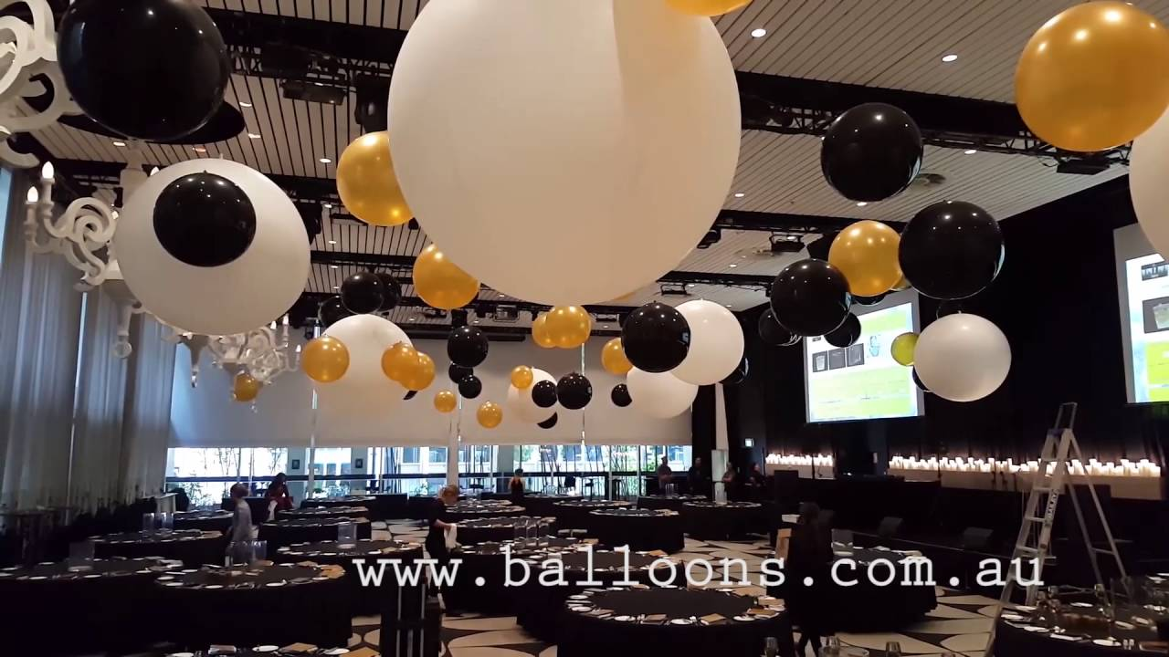 Ceiling Design Online Giant Cloudubster Ceiling Installation Balloons Online Decor Video Tour