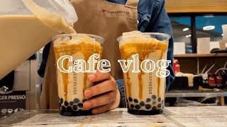 Eng) Cafe vlog #11 : 요거프레소 카페알…