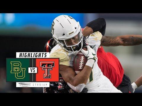 Baylor Vs. Texas Tech Football Highlights (2018) | Stadium