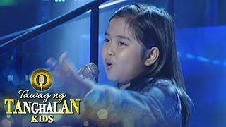 Gambar cover Tawag ng Tanghalan Kids: Maria Franceska Rojas | Stand By You