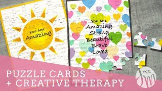 Puzzle Cards + Crafty Therapy Chat