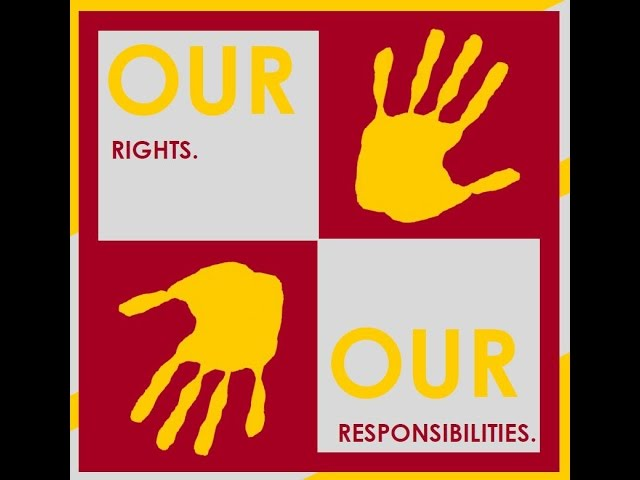 """""""Our rights, our responsibility"""" - Human Rights Day 2016 - Learn4Life! Grade 4 project"""