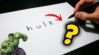 Cómo convertir palabras en dibujos - Parte 5
