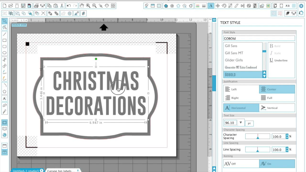 HOW TO: Make custom labels with the Silhouette CAMEO