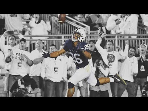 Saquon Barkley's Juggling TD Catch vs Michigan with the Penn State Radio Call