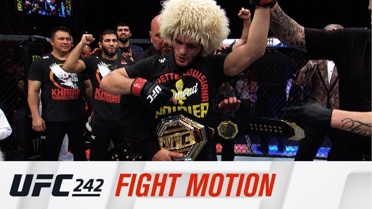 UFC 242: Fight Motion
