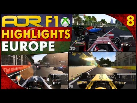 F1 2016 | AOR XB1 F1: S12 Round 8 - European GP (Official Highlights)