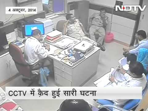 Caught on camera: AAP leader hits, threatens manager of State Bank of India branch in Delhi
