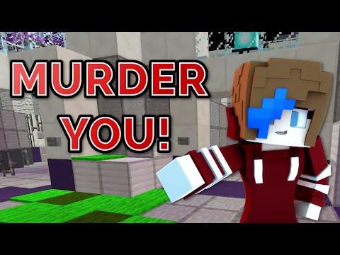 MINECRAFT   MURDER GAMEPLAY   GAMER CHAD & RADIOJH GAMES   NEW SKIN