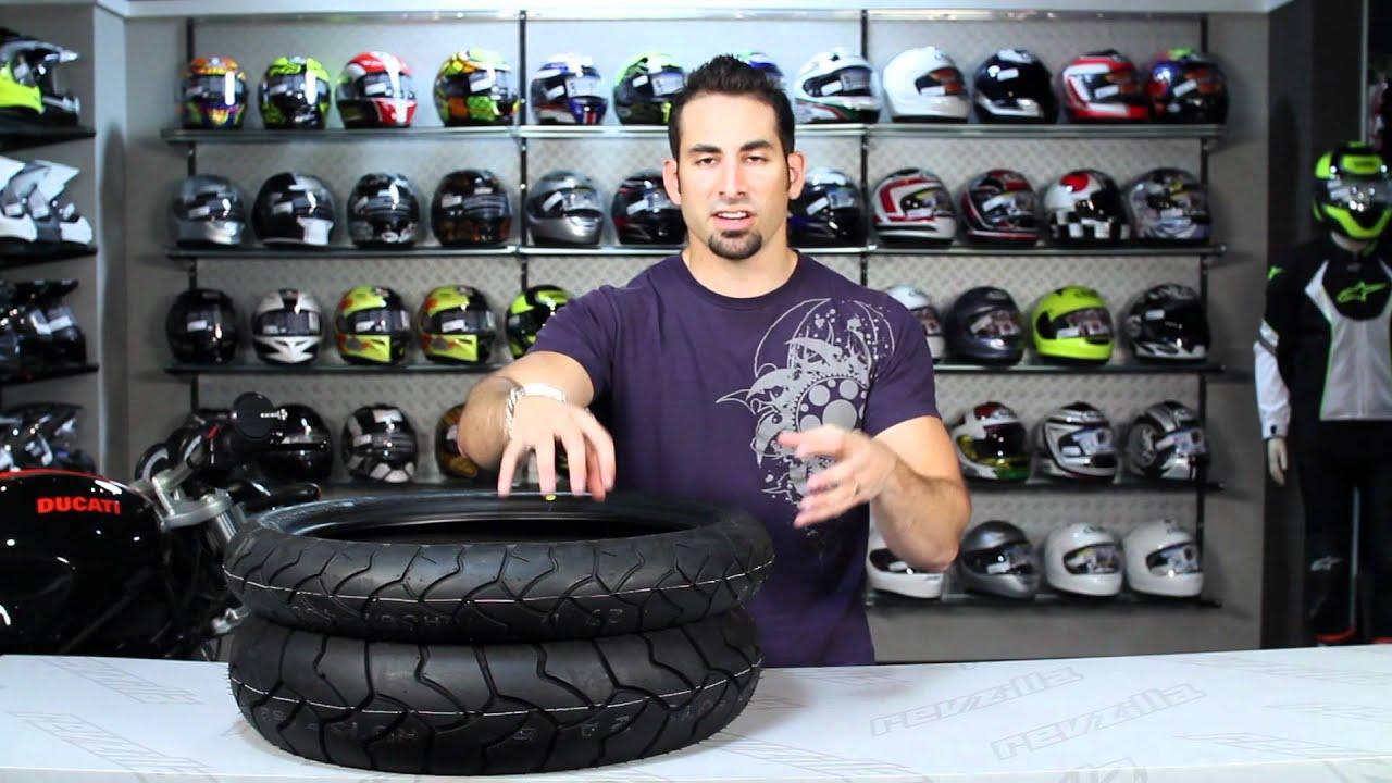 Bridgestone Battlewing Tire Review at RevZilla.com - YouTube