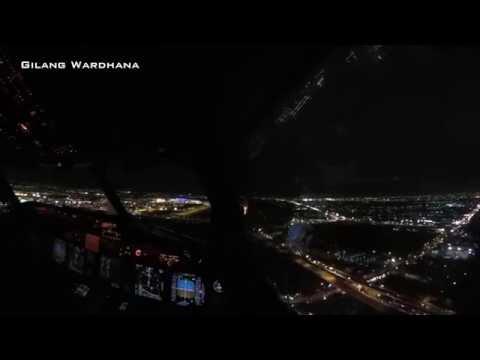 (ATC+TEXT) Sawadikap, Jakarta-Bangkok WIII-VTBS Cockpit View