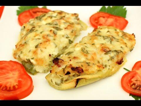 Punjene tikvice u rerni - Video - Stuffed Zucchini