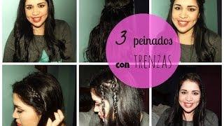 3 peinados fáciles con trenzas :) Thumbnail