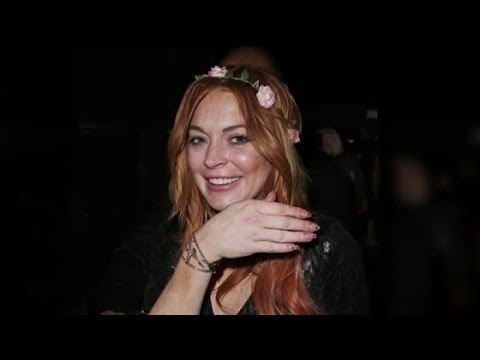 Lindsay Lohan Parties Hard In Cannes | Splash News TV | Splash News TV