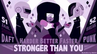 Just the Two of Us are Harder, Better, Faster, Stronger than You (3x SU mashup)