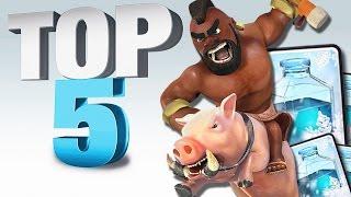top 5 combo pi forti su clash royale