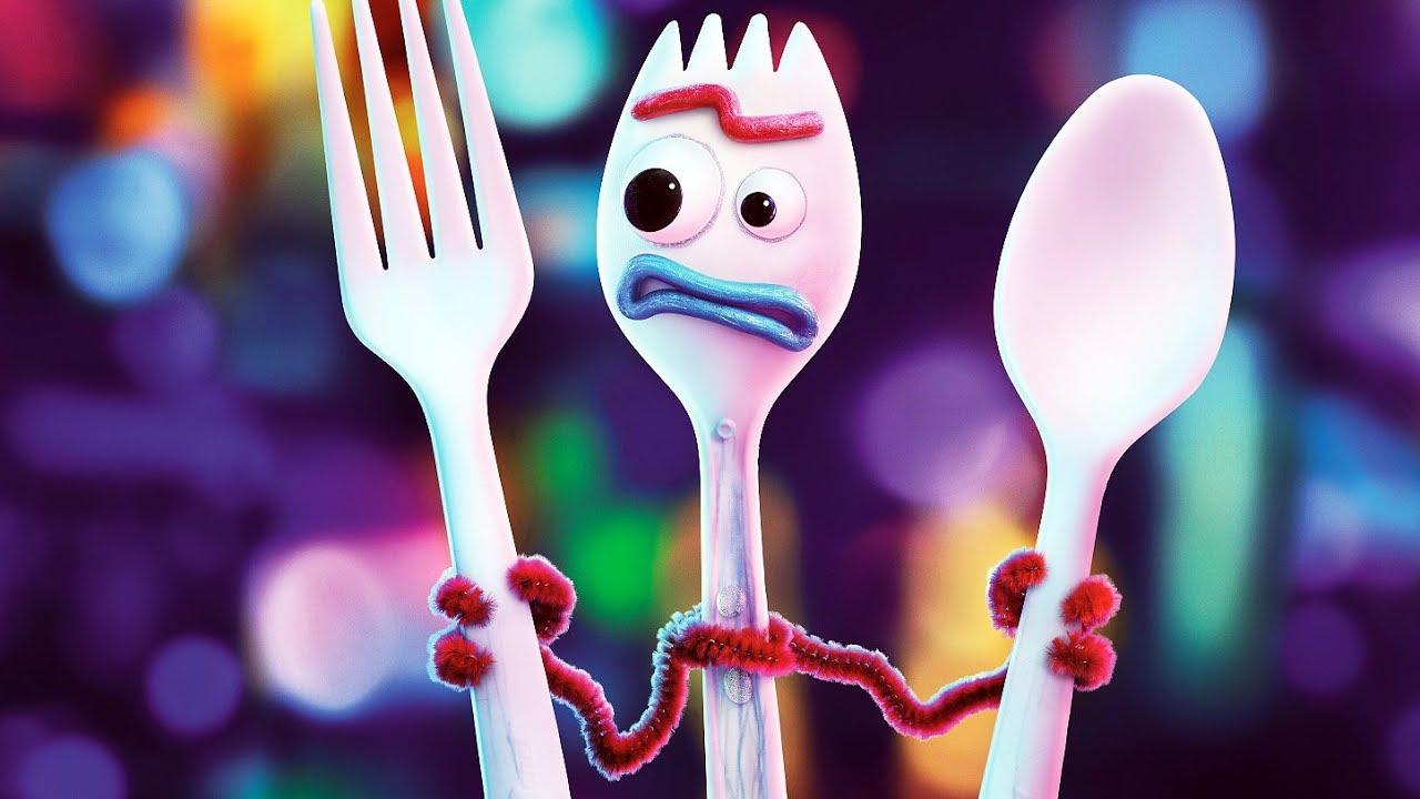 Toy Story 4 Forky Clip Youtube