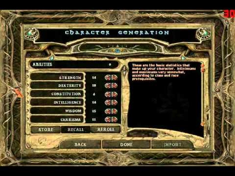 Let's Play Baldur's Gate Part 1: The Saga Begins!