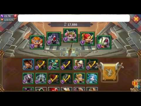 Lords Mobile Elite 6-6 (with Free Heroes)