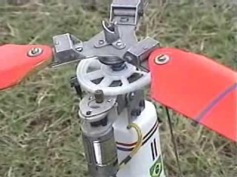 Pré rotação para autogiro rc (rc Autogyro with pre-rotator)