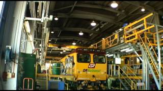 MACS Engineering Gladstone Train Maintenance Platform