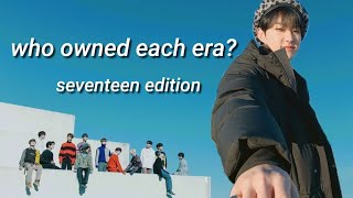 who owned each era? (seventeen edition)