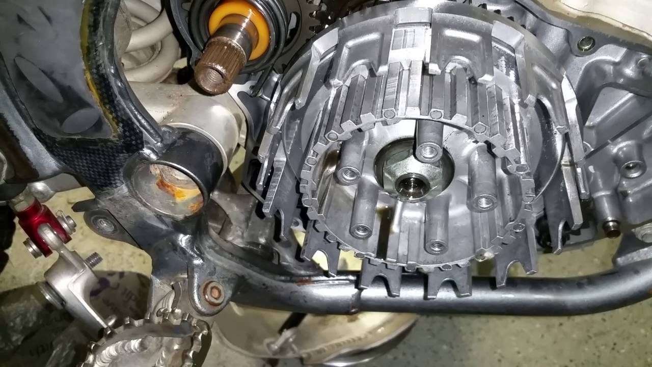 Suzuki Gsxr 600 >> How to fix repair a grabby / sticky clutch. Outer basket ...